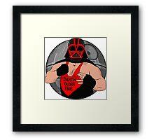 Darth Van Vader Framed Print