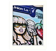 Union Lane, Melbourne 2008 Art Print