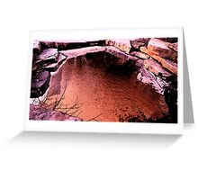 Red Pond Greeting Card