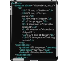 Cookies HTML iPad Case/Skin