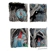 Over The Garden Wall Comic Inspired Fanart Photographic Print