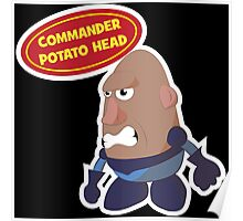 Commander Potato Head Poster