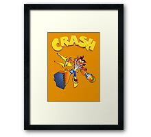 Crash Bandicoot - Wrath Of Cortex  Framed Print