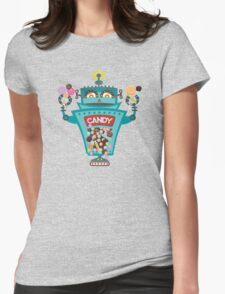 Retro robot colorful candy machine T-Shirt