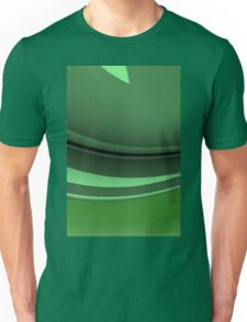 Greens Abstract Unisex T-Shirt