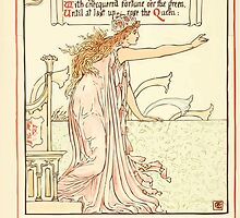 Queen Summer, or, The Tourney of the Lilly and the Rose by Walter Crane 1891 28 - Whereof the grass under was rife by wetdryvac