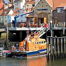 The Whitby Lifeboat by John (Mike)  Dobson