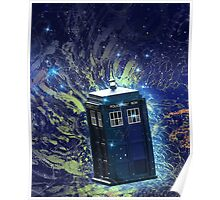 Doctor Who - Tardis in the Space Poster