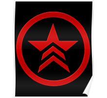 Mass Effect - Bad Karma Symbol Poster