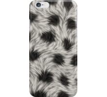 animal fur iPhone Case/Skin