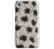 animal fur iPhone Case/Skin