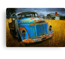 Diesel Blue 2 Canvas Print