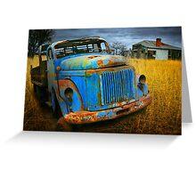 Diesel Blue 2 Greeting Card