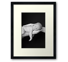 Mommy & Daddy Love Me Framed Print
