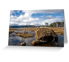 Highland Rivulet Greeting Card