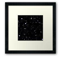 nebula sky Framed Print