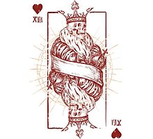 Card of Hearts Photographic Print
