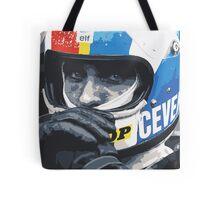 Francois Cevert Helmet Tote Bag