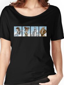 Wizard of Oz Characters T-Shirt Women's Relaxed Fit T-Shirt