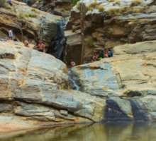 Bear Canyon, Arizona - Seven Falls Sticker