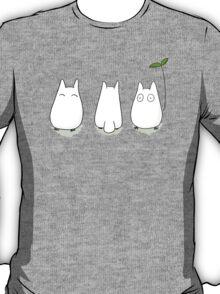 Mini White Totoro Design T-Shirt