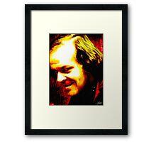 Horror Icons: Jack Torrance - The Shining Framed Print