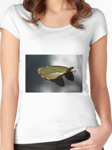 Lonely Lily Women's Fitted Scoop T-Shirt