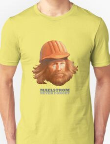 EPCOT Norway Pavilion MAELSTROM NEVER FORGET - Retro Disney - Construction Guy T-Shirt