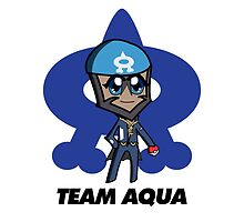 Chibi Team Aqua Archie Shirt Design by Gam1ngPanda