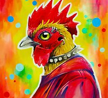 Urban Rooster by Cori Redford