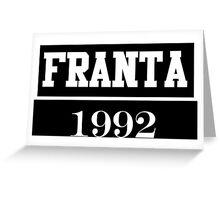O2L FRANTA 1992 Greeting Card
