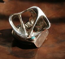 rings on copper by Melissa Moore