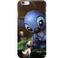Lilo & Stitch - Stitch Cute Portrait  iPhone Case/Skin