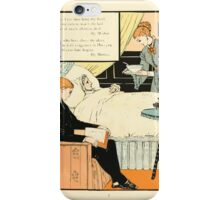 The Buckle My Shoe Picture Book by Walter Crane 1910 75 - And When I see Thee Hang They Head iPhone Case/Skin