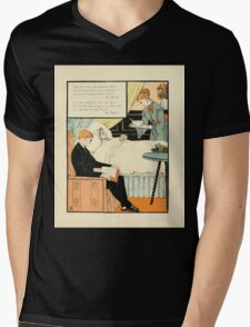 The Buckle My Shoe Picture Book by Walter Crane 1910 75 - And When I see Thee Hang They Head Mens V-Neck T-Shirt
