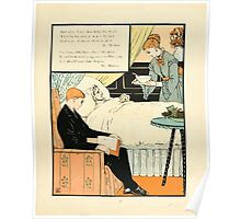 The Buckle My Shoe Picture Book by Walter Crane 1910 75 - And When I see Thee Hang They Head Poster