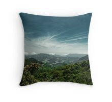 Nature is an infinite sphere of which the center is everywhere and the circumference nowhere.  Throw Pillow