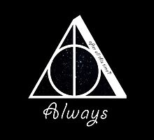Deathly Hallows' Always by bbaperez