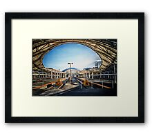Union Station Concourse Framed Print