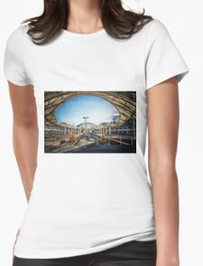 Union Station Concourse Womens Fitted T-Shirt