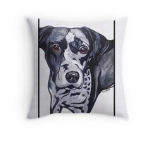 #3: The Catahoula Leopard Dog: Messages from the Dogs Oracle Deck Throw Pillow
