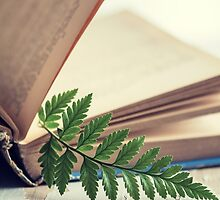 Leafy Bookmark by Colleen Farrell