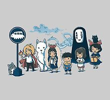 Studio Ghibli - All Characters  by TylerMellark