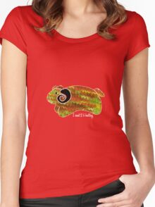 knitty sheep Women's Fitted Scoop T-Shirt