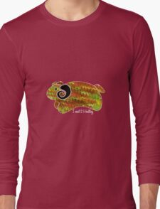 knitty sheep Long Sleeve T-Shirt