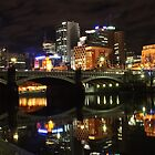 Melbourne at Night by DianaC