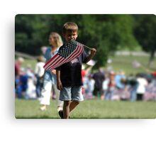 Future Patriot Canvas Print