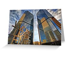 Denver World Trade Center Greeting Card