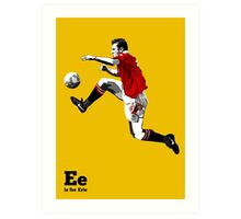 E is for Eric Art Print