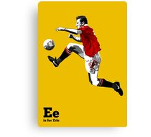 E is for Eric Canvas Print